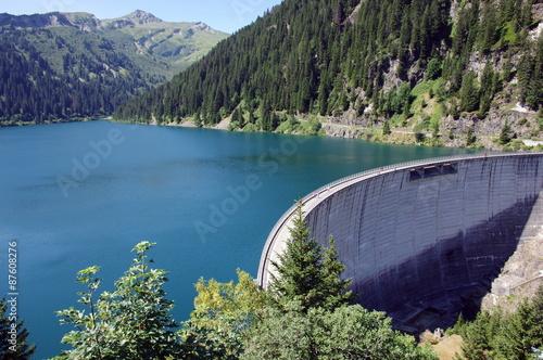 Foto op Plexiglas Dam barrage de st guérin-savoie