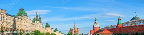 Photo  Moscow Kremlin and Red Square, panorama