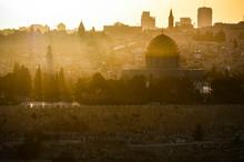 The Sun Sets Over Jerusalem