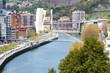 View of Bilbao from Etxebarria park (Spain)