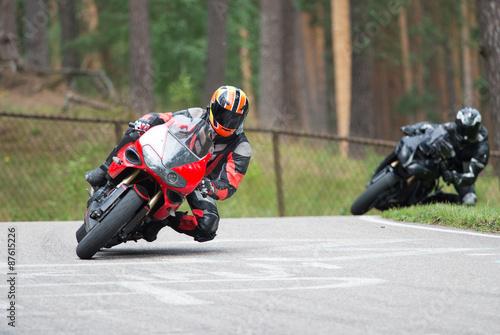 Aluminium Prints Motor sports Motorbike racing