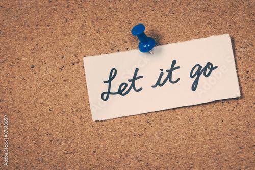 Photo  Let it go
