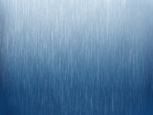 Rain On Blue. Abstract Background