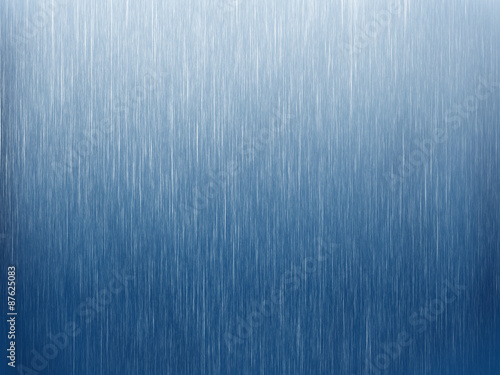 Fotografie, Obraz  Rain on blue. Abstract background