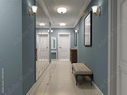 Fotografía  Luxury entrance hall art deco design