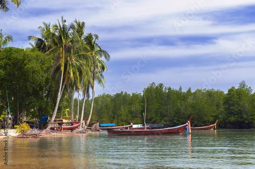 Fototapety, obrazy: Koh Mook Coast Line.