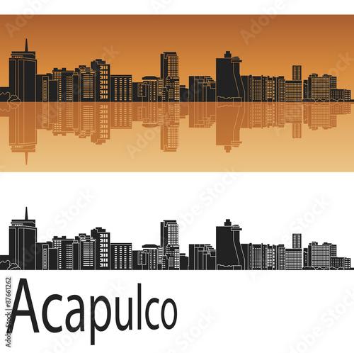 Fotografija  Acapulco skyline