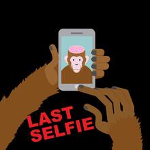 Last Selfie Before His Death. ...