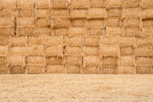 Many Balestraw Stacked Texture Background