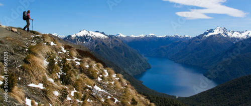 Foto op Canvas Nieuw Zeeland Views from Kepler track, New Zealand