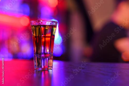 Stampa su Tela drink shot