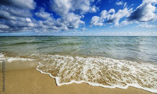 Fototapeta morze plaza-i-morze