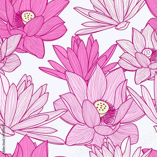 wektorowy-bezszwowy-wzor-z-pieknym-rozowym-lotosowym-kwiatem-kwiatowy