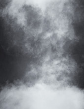 Black And White Clouds And Fog