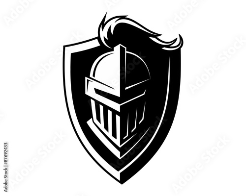black Knight Fototapet