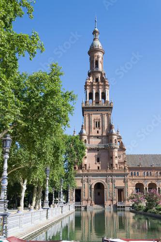Keuken foto achterwand Buenos Aires Spain square tower