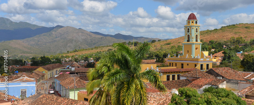 Staande foto Havana Church in Trinidad in Cuba