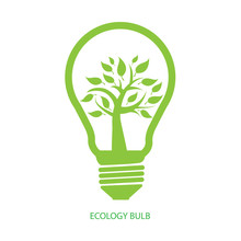 Ecology Bulb, Green Eco Concep...