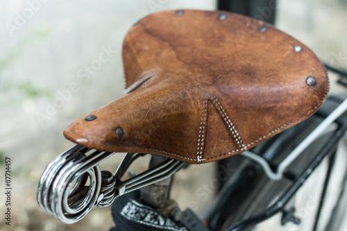 Fotobehang Fiets bicletta vecchio stile