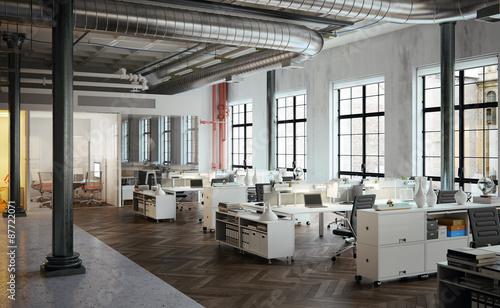 Stylish Old Downtown Loft Agency Office Stylische Buro Agentu