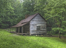 "Noah ""Bud"" Ogle Log Cabin, Great Smoky Mountains National Park"