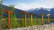 Aussicht auf den Bow River bei bei Banff