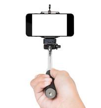 Hand Using Selfie Stick Isolat...