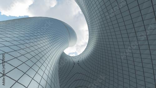 Fototapeta premium Współczesna architektura