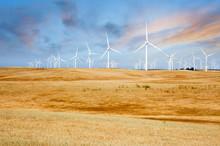 Wind Turbines On California Su...