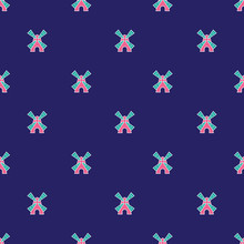 Cute Windmills Pattern