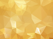 Gold Vector Background Triangu...
