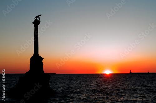 Fototapeta  Monument to the scuttled ships