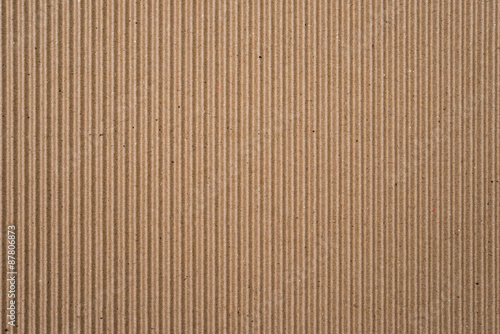 Foto  cardboard corrugated pattern background vertical