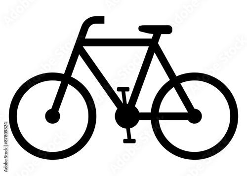 Fotomural  Fahrrad