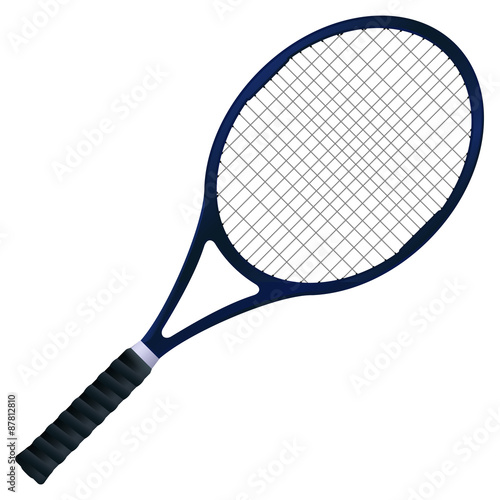 Canvas Print Tennis racket