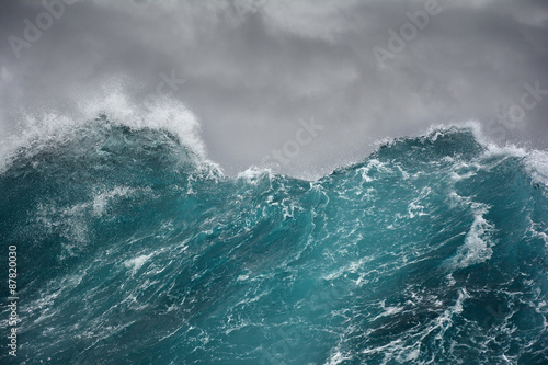 Foto op Canvas Water sea wave