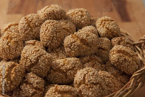 Le Reginelle biscotti col sesamo Fototapeta
