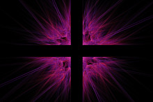 Abstract Colorful  Fractal Artwork Background.