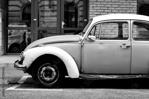 Photo  old beetle