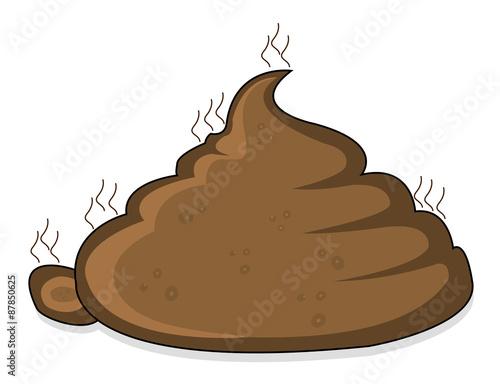 Photo  pile of poop
