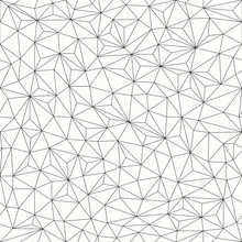 Triangles Background, Seamless...