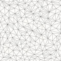 Fototapeta Triangles background, seamless pattern, line design