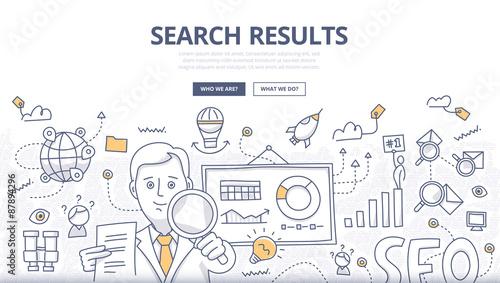 Fotografia  Online Search Doodle Concept