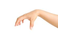 Well Shaped Female Hand Reachi...