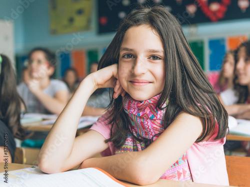 Plakat Dzieci w szkole
