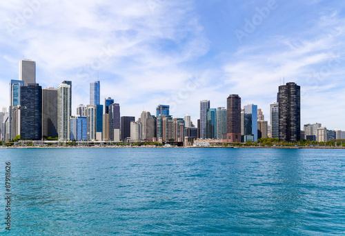 Foto op Plexiglas Chicago Chicago at Lake Michigan