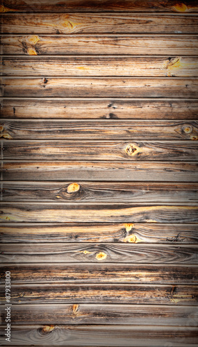 Papiers peints Bois Turquoise wooden background