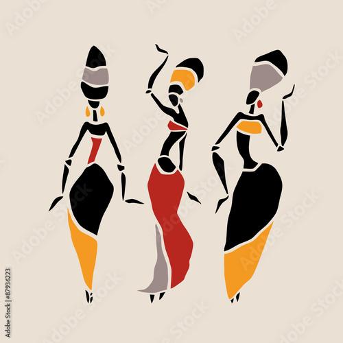 zestaw-sylwetka-afrykanskich-tancerzy