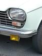Französische Limousine der Siebziger Jahre in hellem Türkis bei den Golden Oldies in Wettenberg