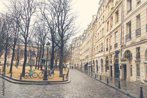 Gloomy day in Paris #87970845